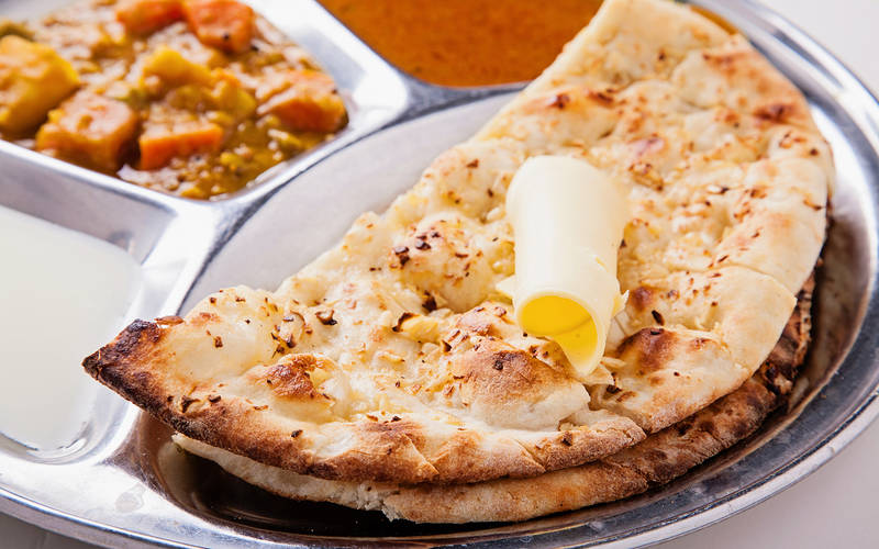 Naan Garlic Cheese